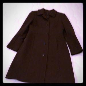 J. Crew Petite Double Cloth Lady Day Coat